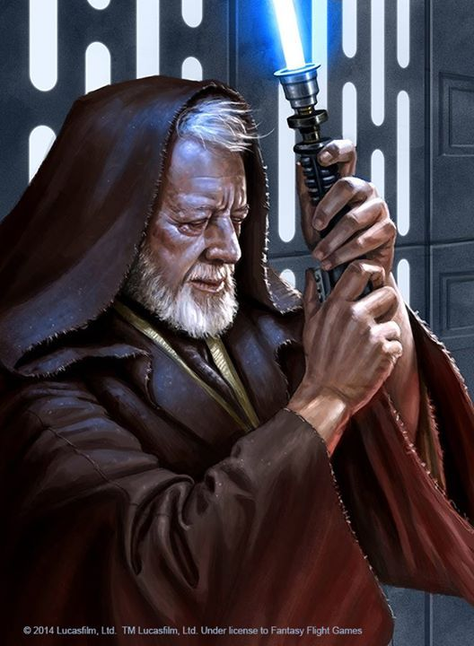 """""""If you strike me down, I shall become more powerful than you can possibly imagine"""" Art by Ryan Valle"""