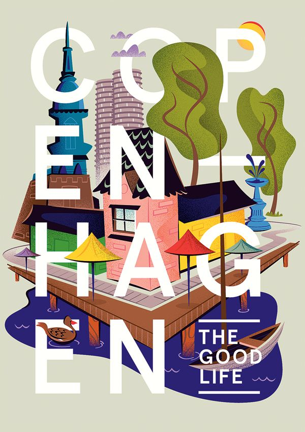 Copenhagen - Matt Chase | Design, Illustration