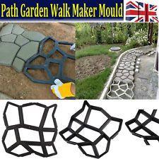 Driveway Paving Brick Patio Concrete Slabs Pathmate Path Garden Walk Maker Mould