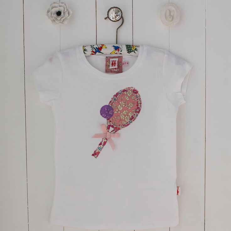 We Love Tennis T-shirt, £20, in beautiful Liberty Prints