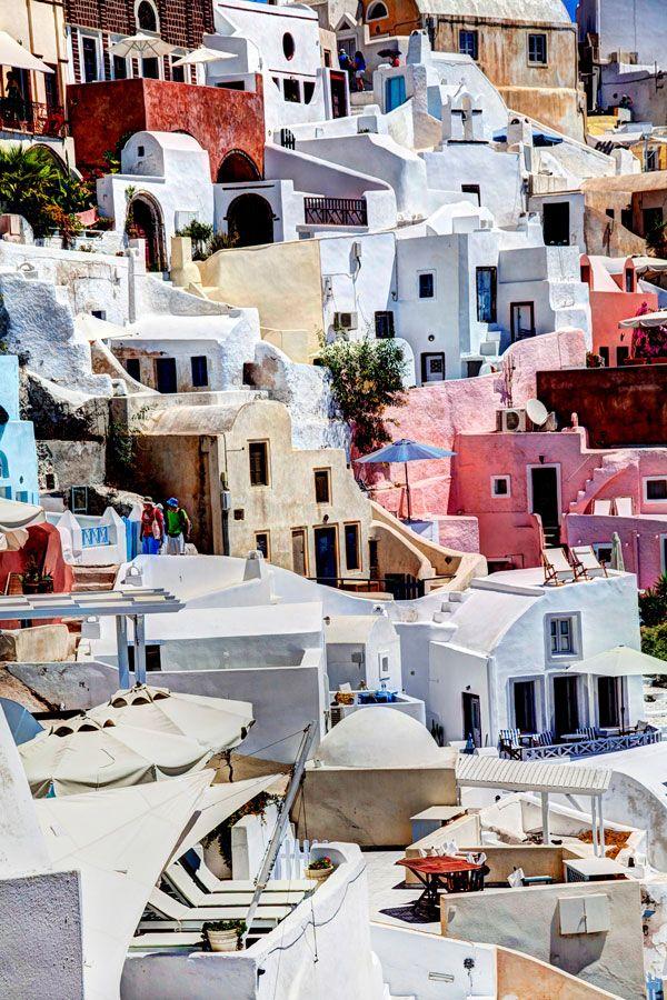 Colours of Oia, Santorini, Greece