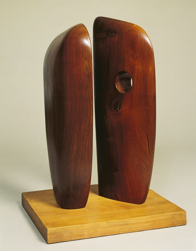 Barbara Hepworth, Echelon, 1938, collectie Tate London,