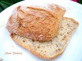 domowy wypiek chleba , jak zrobić zakwas, zdrowe pieczywo, chleb na zakwasie, pieczenie chleba, bułki, chleb pieczenie w domu, ciabatta