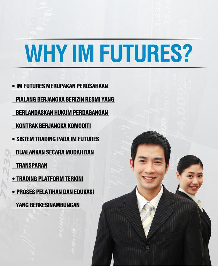 Mengapa anda harus memilih IMFutures sebagai pendamping investasi anda ? Ayo cek website kami.
