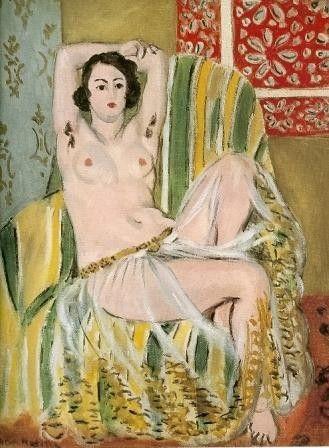 『肘掛け椅子とオダリスク』(1923年)
