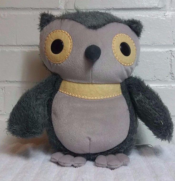 Kohls Cares Aesops Fables Owl Stuffed Animal Plush Gray                    (A25) #KohlsCares