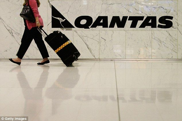 Qantas has increased the price it charges passengers for excess baggage by 75 percent (stock image)