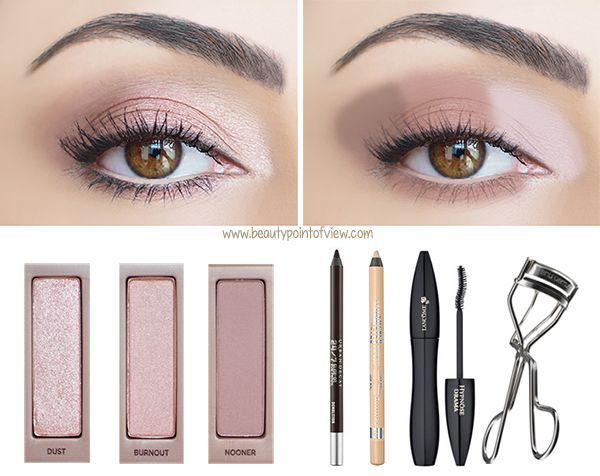 Naked 3 Makeup Looks: Look No.1 - Barely Naked **Check out the other two looks now at Beauty Point Of View #makeup #beauty #tutorial #urbandecay #naked3