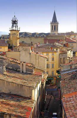 Carpentras dans le Vaucluse en #Provence #France #Tourisme
