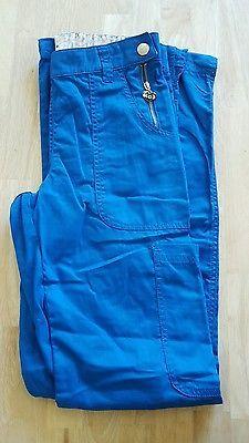 NEW KOI Zara style XS Tall Royal Blue Scrub UNIFORM Pants