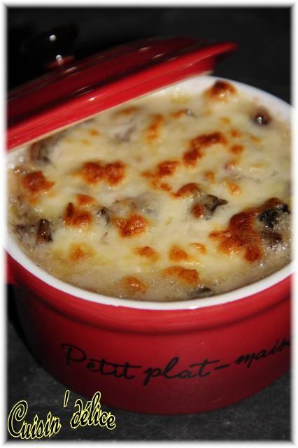 Côtes de blettes gratinées au Roquefort et à la mozzarella, Recette de Côtes de blettes gratinées au Roquefort et à la mozzarella par Claryss - Food Reporter