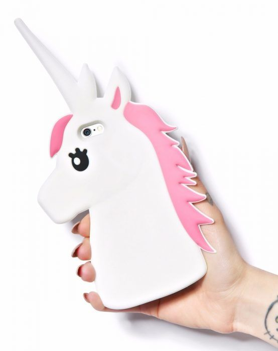funda celular unicornio