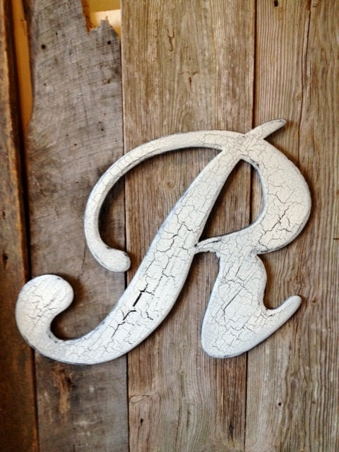 161 best images about r for rita on pinterest With wooden door letters