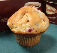 Dunkin Donuts Copycat Recipes: Lemon Cranberry Muffins