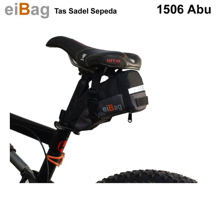 Tas sadel sepeda murah produk Bandung dari EIBAG merupakan salah satu produk tas sepeda yang fungsinya untuk membawa tools bisa juga ban dalam cadangan