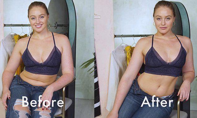 Curvy model Iskra Lawrence reveals posing tricks Instagram stars use