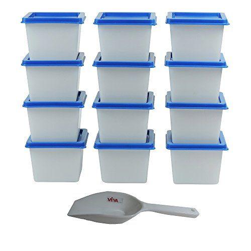 Viva-Haushaltswaren - 12 Mini - Gefrierdosen / Tiefkühldosen 100 ml / BPA frei ! #Viva #Haushaltswaren #Mini #Gefrierdosen #Tiefkühldosen #frei