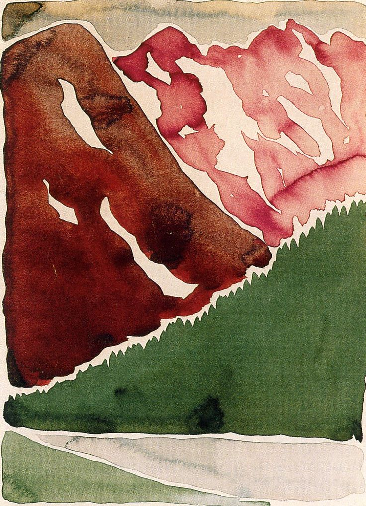 Love this artist and especially love her super-fresh watercolors!!  RT Georgia O'Keeffe (1887 -1986)