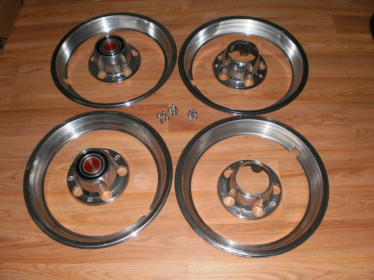 80-96 FORD F150 BRONCO 4X4 CENTER CAPS,TRIM RINGS ...
