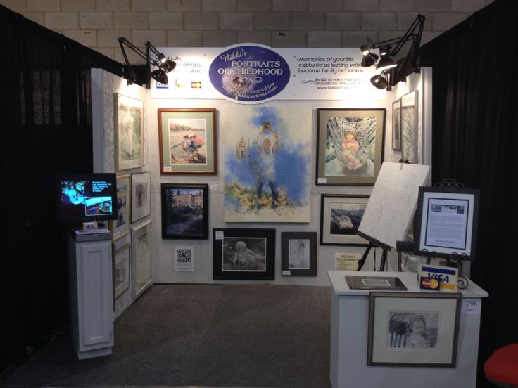 Revamped 2015 booth for the Regina Spring Home Show. What do you think? This is my 19th year in the show. This summer will be my 20th year in business full time as Nikki's Portraits of Childhood. We are in the Stockmen's Arena Aisle R booth 796.