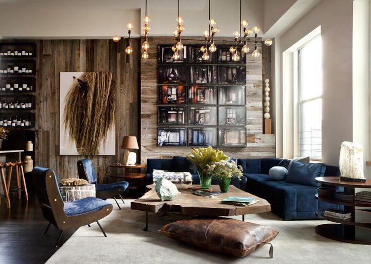 James Huniford [fordhuniford] Is A Master Of Mixing Old And New, Vintage And  Custom To Create Interiors That Are Wholly Authentic. For The Living, Buro