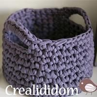 Petit panier en crochet Tuto pour fabriquer - Loisirs créatifs