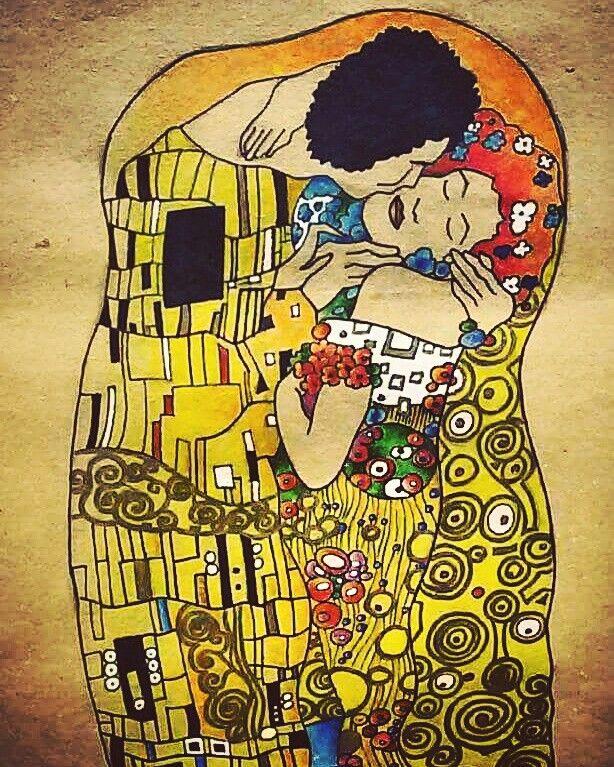 """Klimt """"Il bacio"""""""