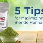 Blonde henna is the ideal dye for creating a natural sun streaking effect. However, personally mixing and applyingthedye can be a very intimidating process. There is a lot of literature surrounding blonde henna--whole pages of tips and tricks--and ...
