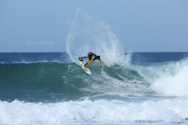 Pro surfer || Gabriel Medina.  I took this shot in Jbay during the ASP Jbay open. The amount of spray he misplaced on this turn shows you how powerful and perfect it was