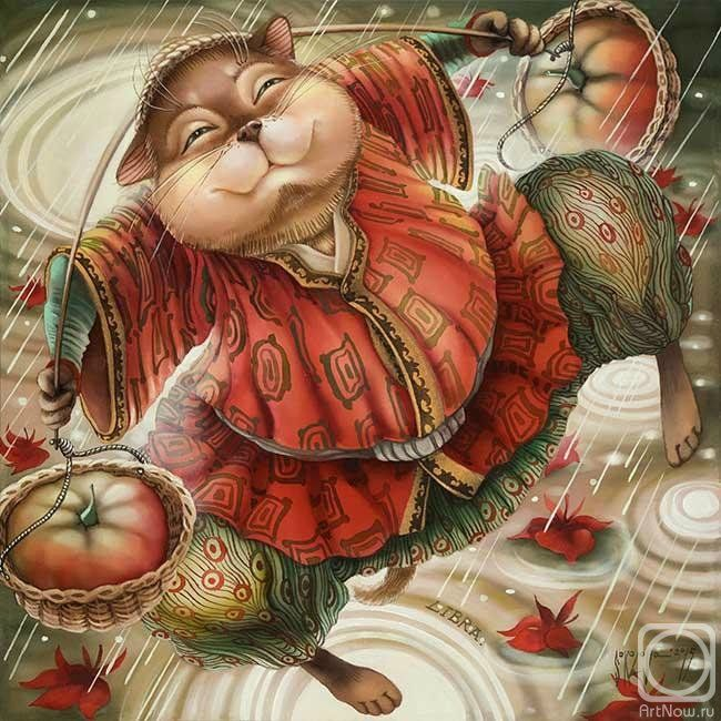 КОТОЗНАКИ ЗОДИАКА. Батик Надежды Соколовой / Интересненькое / Бэйбики. Куклы фото. Одежда для кукол