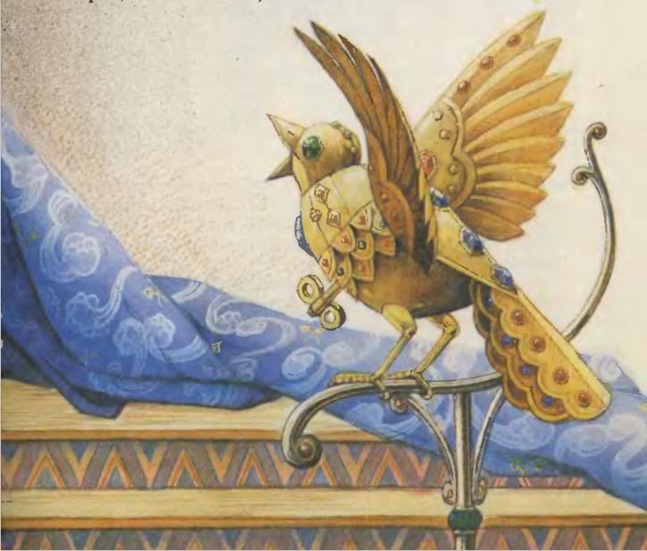 Картинки соловей из сказки