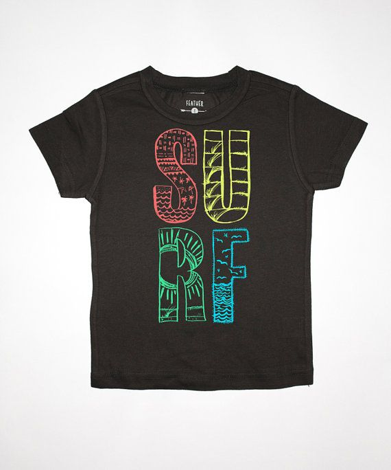 Surf Toddler Tee By Feather 4 Arrow California by Feather4Arrow, $22.00