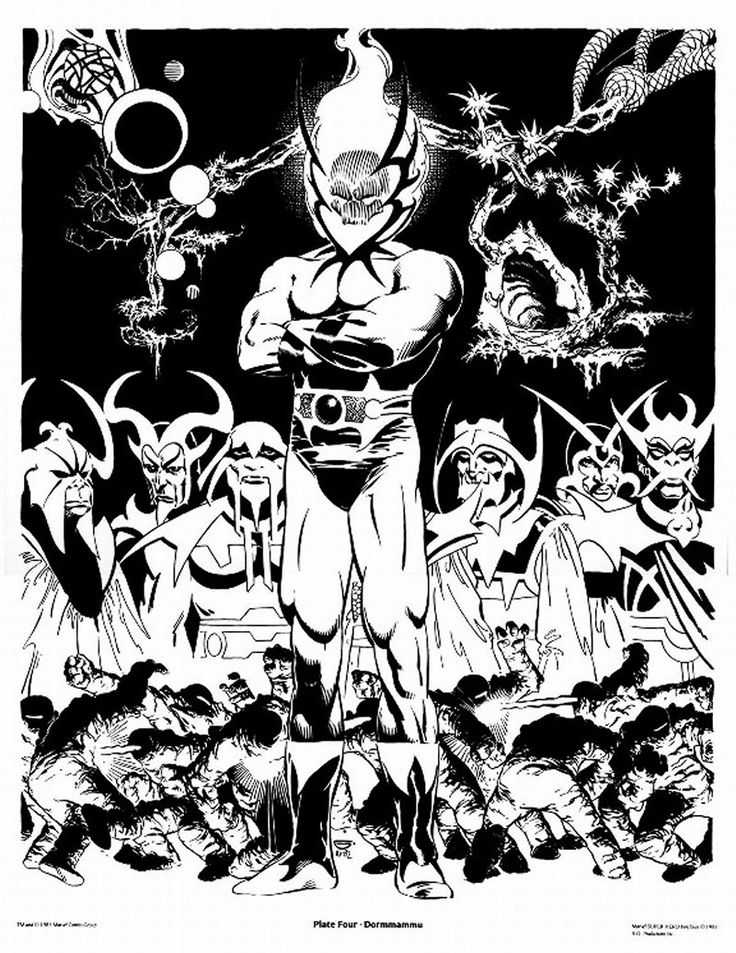 The Doctor Strange Portfolio By Michael Golden Published Marvel Comics 1983