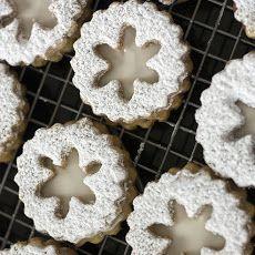 Eggnog Snowflake Cookies Recipe