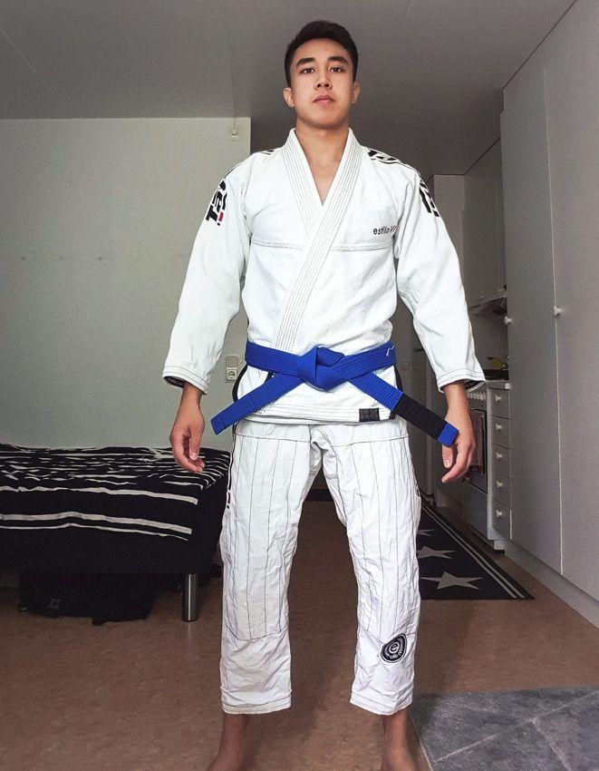 New Tatami Estilo 6.0 Mens Brazilian Jiu Jitsu Gi Jiu-Jitsu BJJ White /& Black