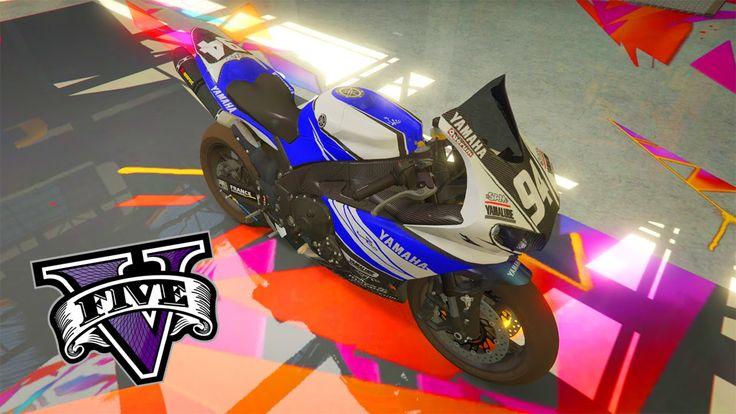 O MELHOR MOD DE MOTO CUSTOMIZÁVEL DO GTA 5?! #1 (Yamaha R1 2014) GTA V MODS