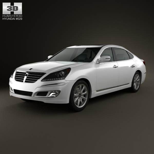 2012 Hyundai Equus Interior: 126 Best Hyundai 3D Models Images On Pinterest