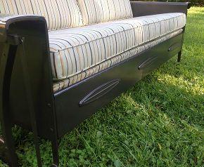 vintage porch glider restoration - Porch Gliders