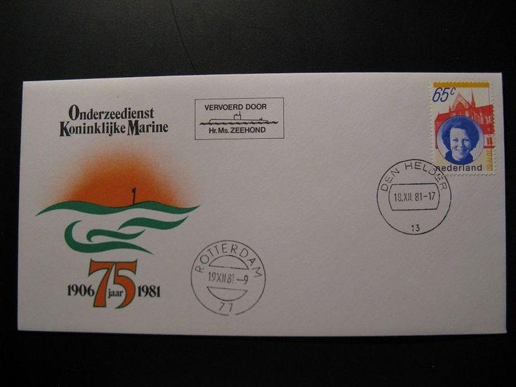 Onderzeedienst Koninklijke Marine 1906-1981 75 jaar Den Helder, Hr. Ms. Zeehond