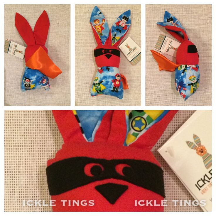Middle Wabbit - Super Hero – Ickle tings