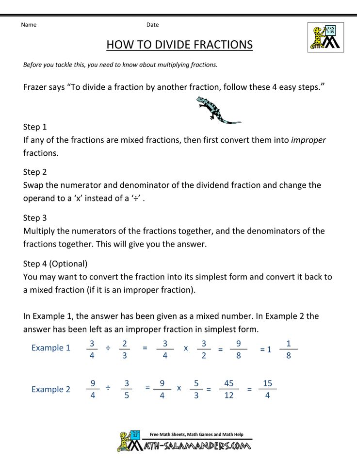 43 best Multiplying fractions images on Pinterest | Unterricht ideen ...