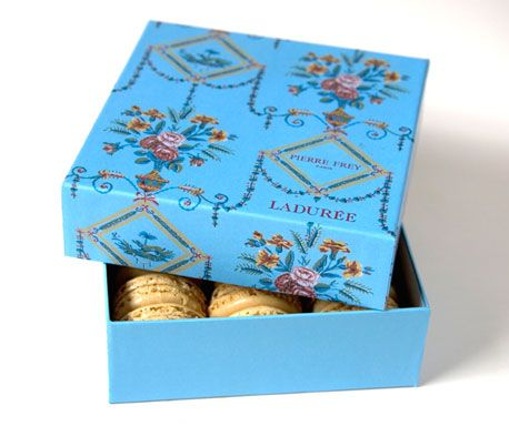 """The Terrier and Lobster: Laduree """"Les Signatures"""" Macaron Fashion Collaborations"""