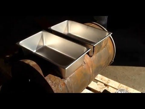 Building a Homemade Maple Syrup Evaporator -- $55 in Supplies - YouTube
