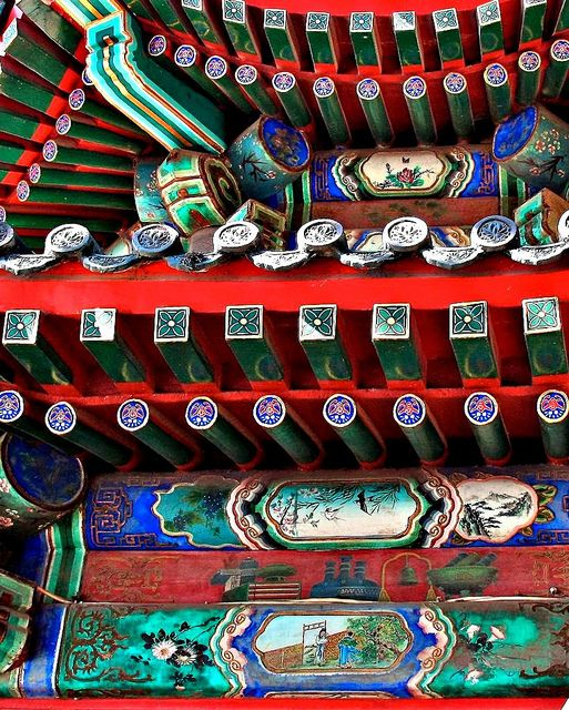 Architectural Detail Summer Palace Beijing by carolynpepper, via Flickr