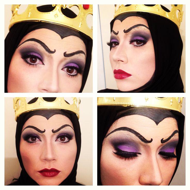 "Maquillaje Reina Grimhilde ""Madrastra Blancanieves"""