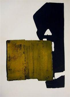 Eau-Forte XIX By Pierre Soulages ,1970