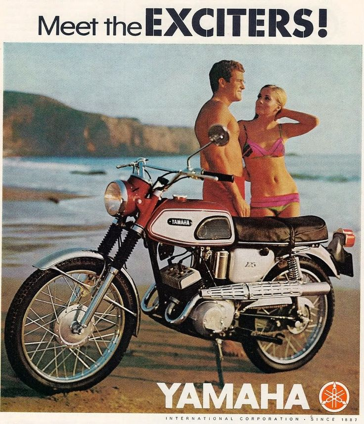 vintage honda motorcycle ads. yamaha exciter 250 enduro u002760u0027s ad ridinu0027 old school pinterest 60 s bikes and motorcycle posters vintage honda ads