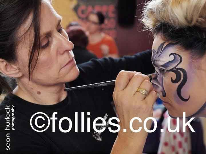 Follies Face Painting course calendar, Follies run regular Face Painting courses & Body Painting courses in Kent, London and bespoke locations