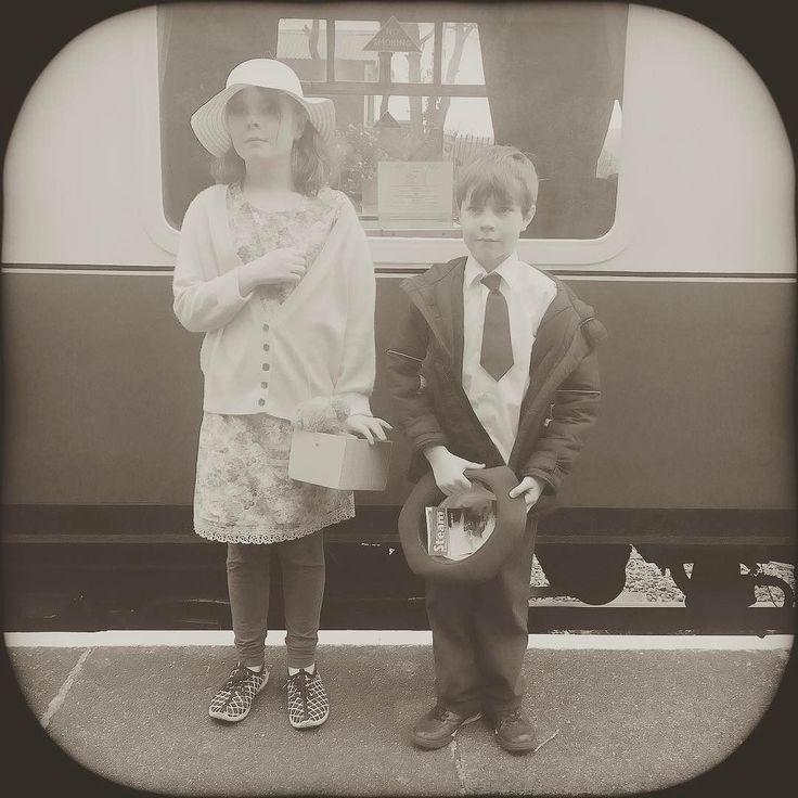 WW2 evacuation day at GWSR railway #museum today