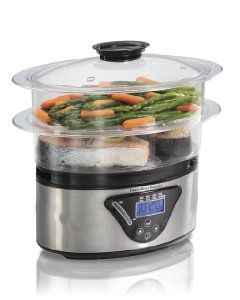 Looking to prepare more healthy meals? Then you must invest in an electric food steamer. Here are our picks #foodsteamer #kitchenappliances